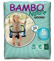 Bambo Nature, Pieluchy Pants, 5 Junior 12-20 kg, 20 szt.