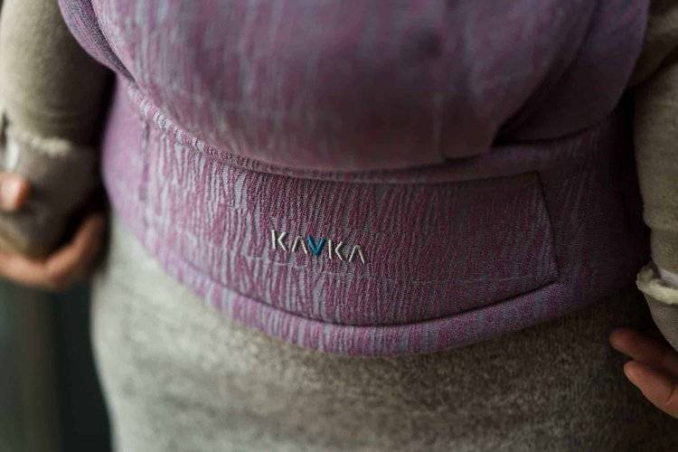 Nosidło Regulowane – Kavka Multi-Age / Dusty Pink Braid