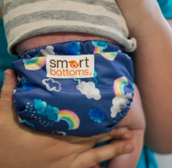 Smart Bottoms Pieluszka Smart One 3.1 AIO Over the Rainbow